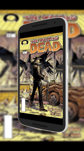 Comics in Google Play Books