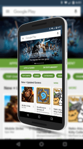 New Google Play Store for Android