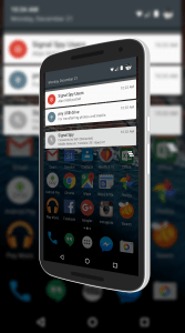 Android Marshmallow USB Notification