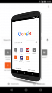 Chrome For Android New Bookmarks & Recents Shelf