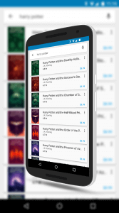 Harry Potter Books in The Google Play Books Store