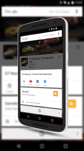 Now On Tap in The Google Play Store App