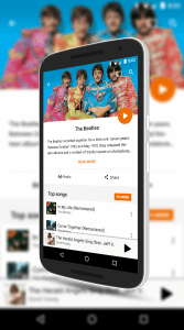The Beatles on Google Play Music
