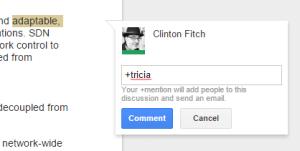 Google Docs for Web Comments