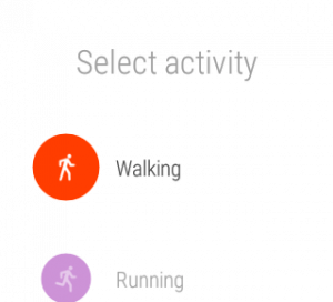 Google Fit Activity Tracking in Android Wear