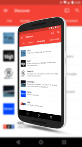 Network Search in Pocket Casts