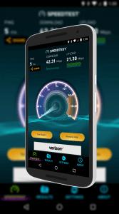 SpeedTest Network Test Results