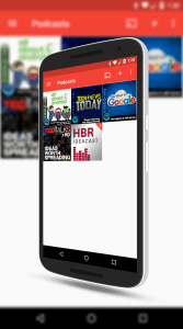 Subscribed Podcasts in Pocket Casts