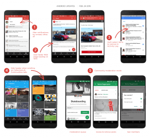 Google+ 7.3 for Android Updates
