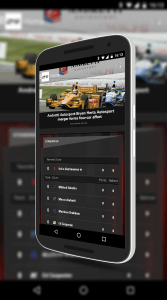 IndyCar for Android Home