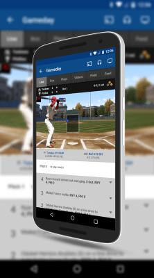 Gameday in MLB At Bat