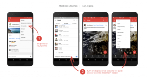 Google+ March Updates