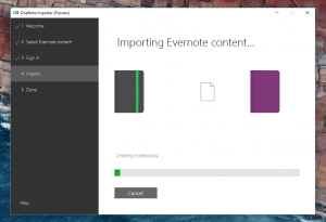 OneNote Evernote Import Tool