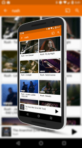 Video Searching in Google Play Music