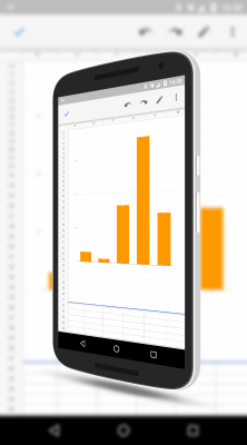 Charts in Google Sheets for Android