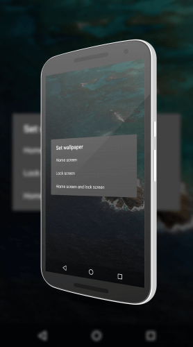 New Wallpaper Settings in Android N