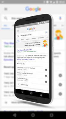 Podcast Search and Playing in Google Search