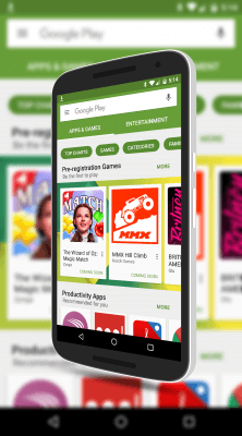 Google Play Store Pre-Registration
