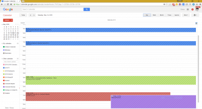 Locations in Google Calendar