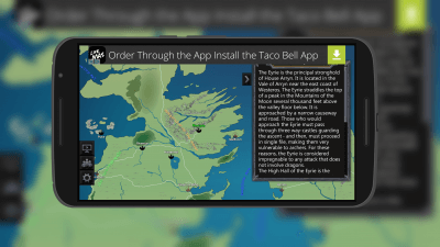 Map of Game of Thrones for Android