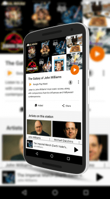 The Galaxy of John Williams Radio Station on Google Play Music