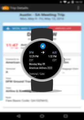 TripIt Android Wear Support