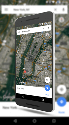 Improved satellite images in Google Maps