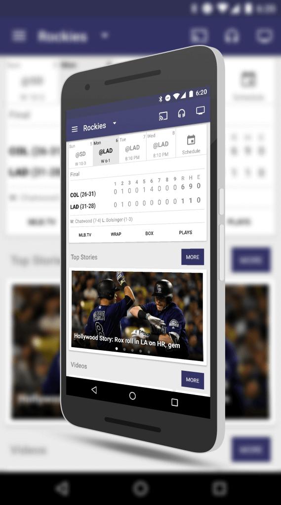 MLB at Bat for Android