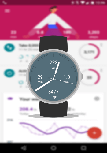 New Google Fit Watch Face