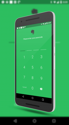 Setting Up A Passcode in Evernote