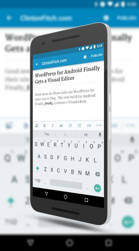 WordPress Visual Editor on Android