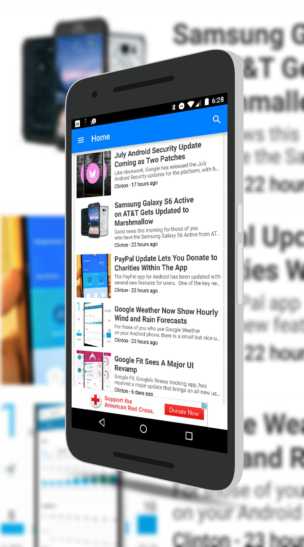 ClintonFitch.com App