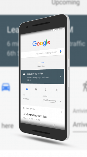 Tweaking Arrival Times in Google Now