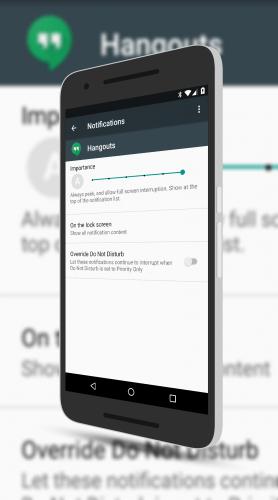 App Notification Control Settings