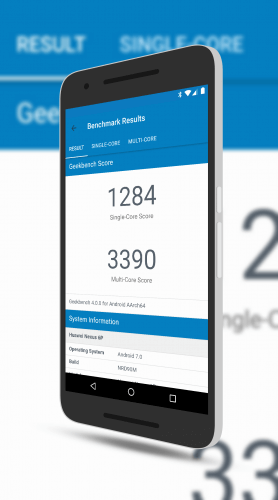 Geekbench 4 New Material Design Look