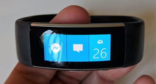 Tiles of the Microsoft Band 2