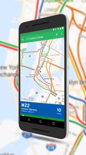 Transit Maps in Transit App for Android