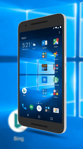 A Microsoft Centric Android Phone