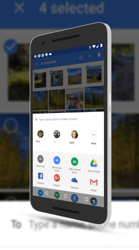 Google Photos Sharing with Contacts