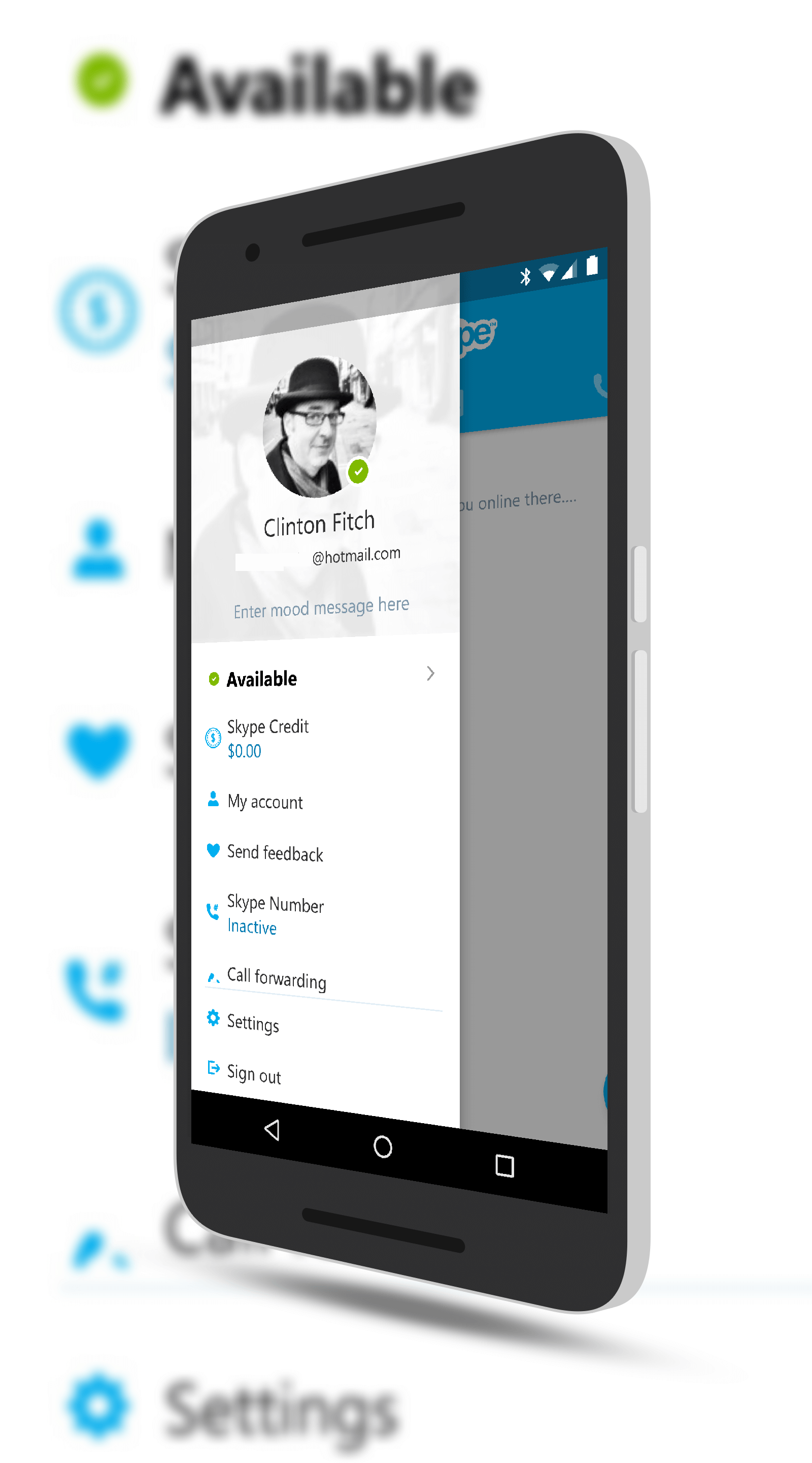 skype for android sees minor changes in update clintonfitch