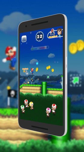 Will this be how Super Mario Run looks on Android?