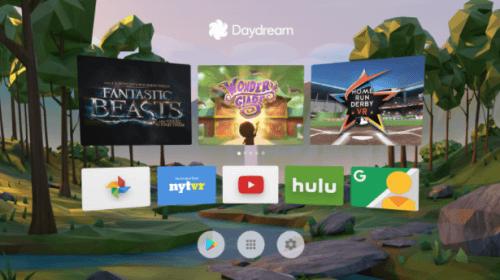 Google Daydream Interface