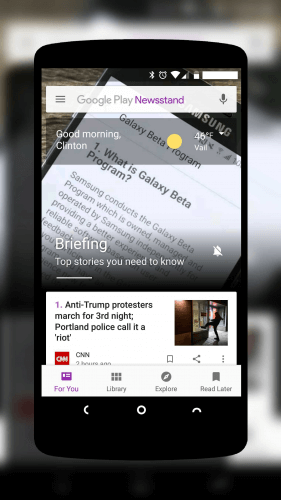 how to use google play newsstand