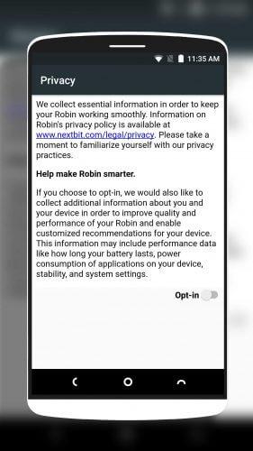 Nextbit Robin Opt-In