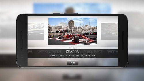 F1 2016 Main Menu