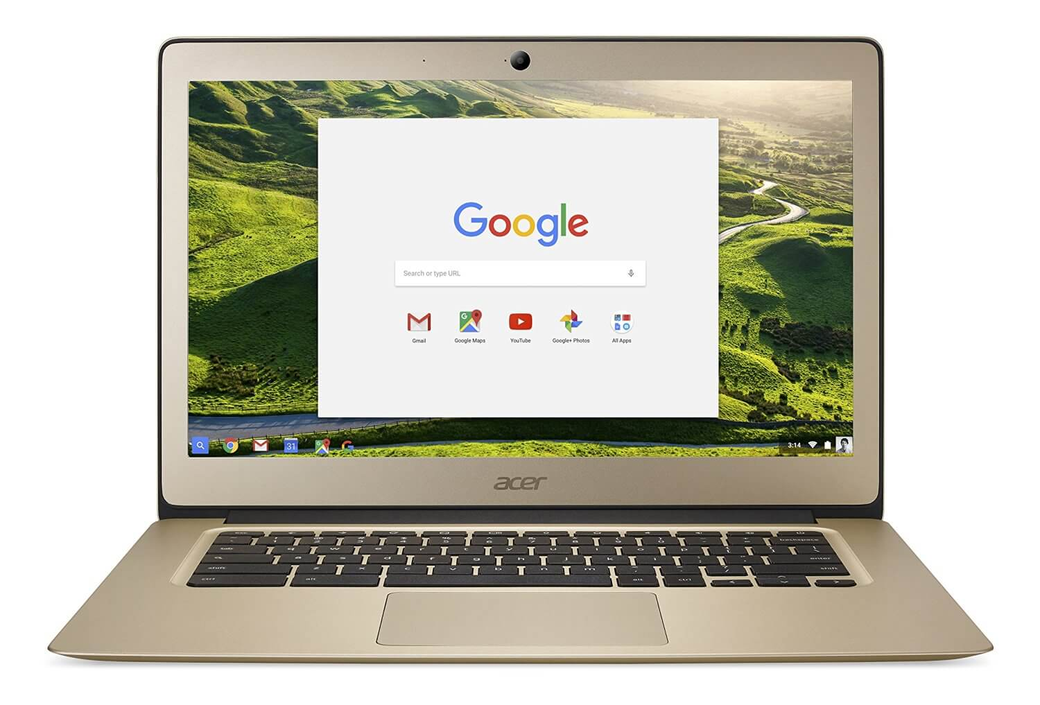 Acer Chromebook 14 in Gold Aluminum