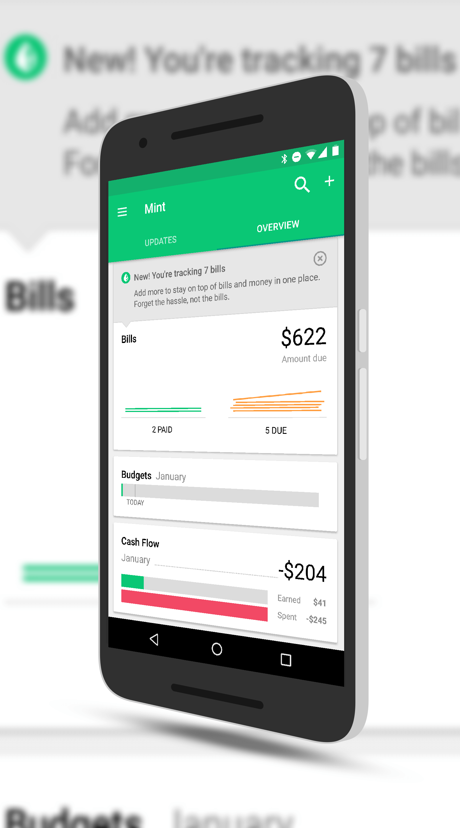 Mint for Android