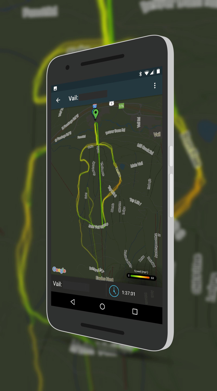 Snocru Speed Tracking Map