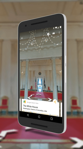 The White House on Google Street View