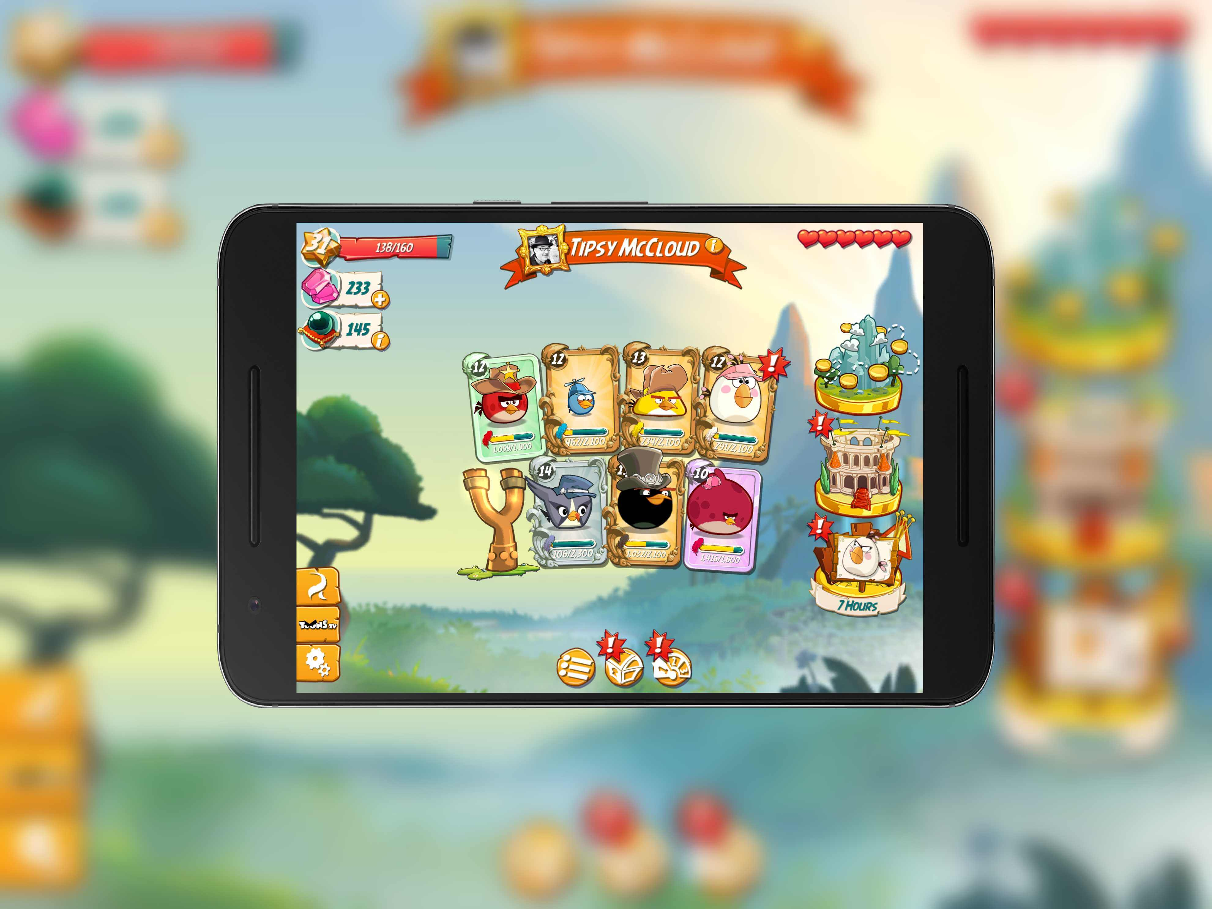 Angry Birds 2 New Home Screen